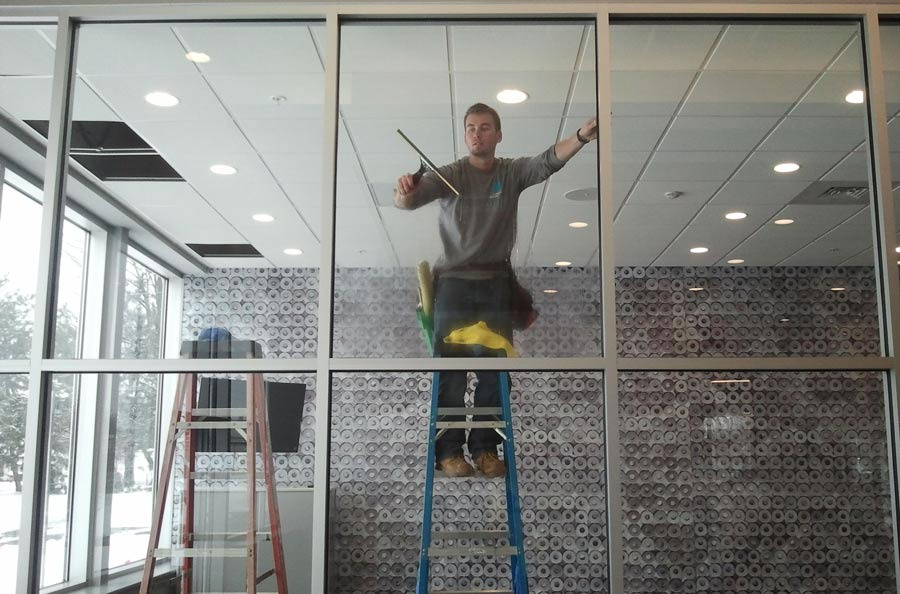 commercial window cleaning - lewisville window cleaning